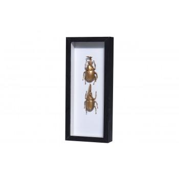 Настенный декор Жуки в рамке со стеклом HZ1300450