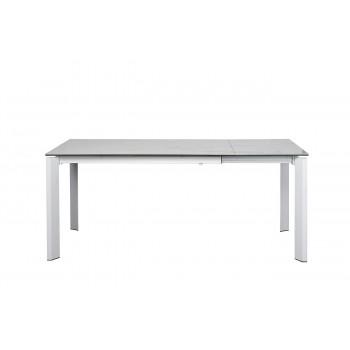 Стол обеденный раскладной керамический белый 83MC-1948DT WH
