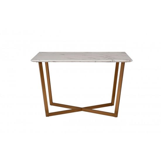 Стол обеденный прямоугольный белый 33FS-DT19F335-BBS в интернет-магазине ROSESTAR фото