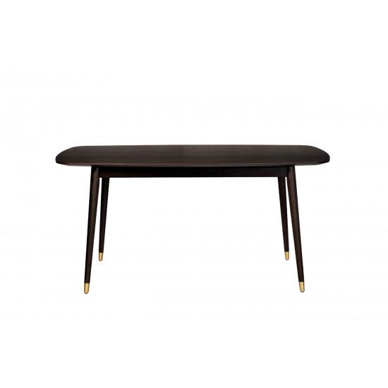 Стол обеденный прямоугольный коричневый 77IP-DT605 в интернет-магазине ROSESTAR фото
