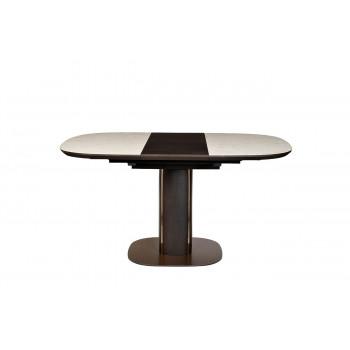 Стол обеденный раскладной с керамической вставкой 77IP-DT877-1