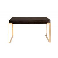 Письменный стол Golden Prism коричневый/золото 84HB-D319P