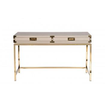 Письменный стол светлый/золото 46AS-D4084-TP