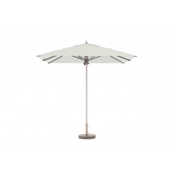 Зонт уличный белый с утяжелителем 39AR-TY-UT