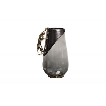 Декоративная стеклянная ваза Ягуар 69-120167