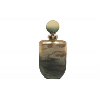 Флакон декоративный золотисто-зеленый 71PN-5163