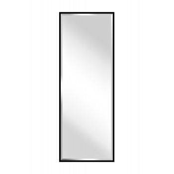 Прямоугольное зеркало с фацетом в черной раме KFG076