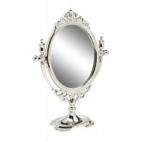 Настольное металлическое зеркало94PR-22401 цвет Хром