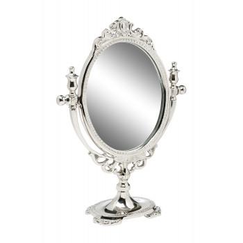 Настольное металлическое зеркало 94PR-22401 цвет Хром