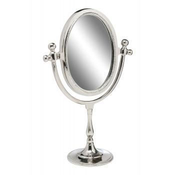 Настольное металлическое зеркало 94PR-18152 цвет Хром