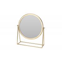 Настольное металлическое золотое зеркало A16000110