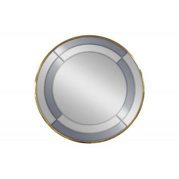 Зеркало двухцветное в золотой раме KFG091