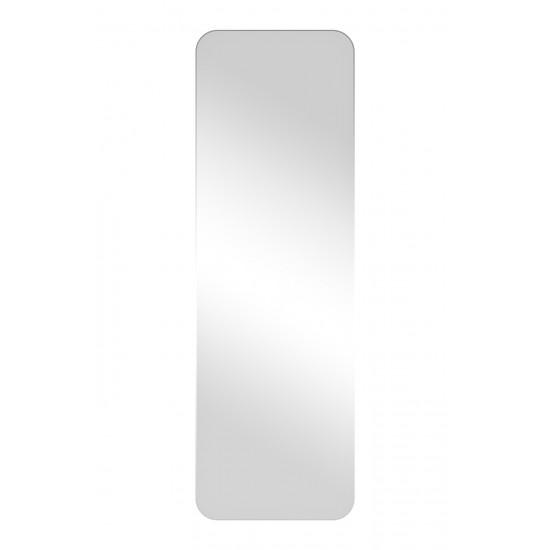 Зеркало в металлической раме из нержавеющей стали со скругленными углами цвет хром KFG099