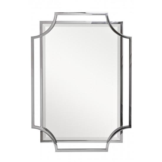 Зеркало в металлической раме цвет хром 78*108см KFE1150/1