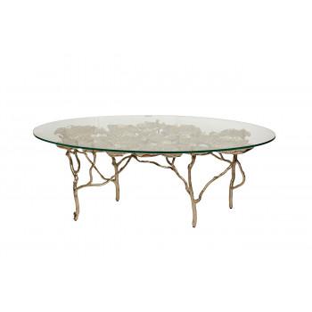 Кофейный столик круглый Флора 69-1219024