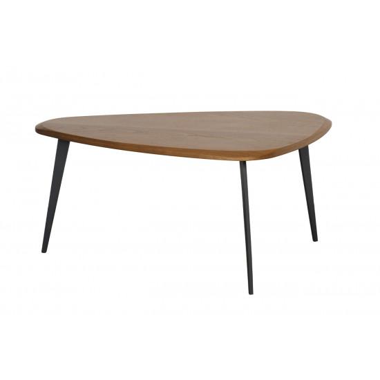Журнальный столик из дерева на трех ножках 57EL-CT705B в интернет-магазине ROSESTAR фото