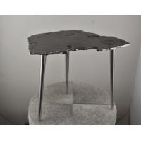 Алюминиевый журнальный столик цвет Серебро 71PN-1260