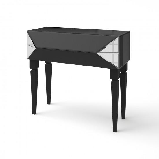 Зеркальная консоль Роялти черный матовый в интернет-магазине ROSESTAR фото