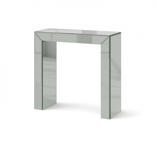 Зеркальная консоль Дарлинг Мини серебро в интернет-магазине ROSESTAR фото