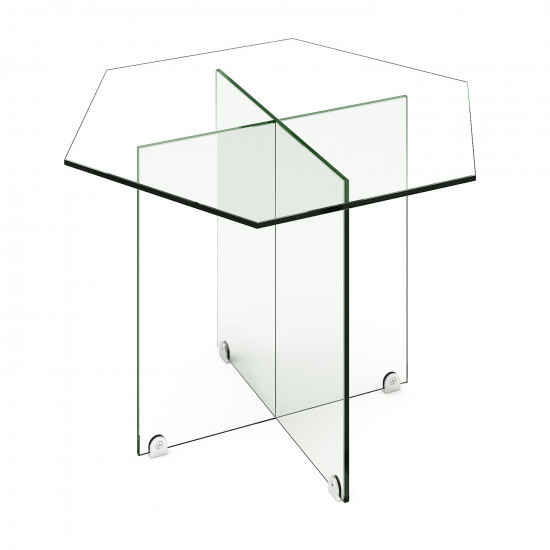 Стеклянный журнальный столик Изи в интернет-магазине ROSESTAR фото