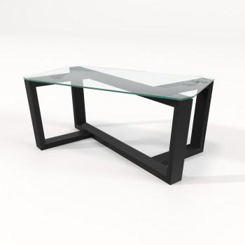 Журнальный столик со стеклом Палли