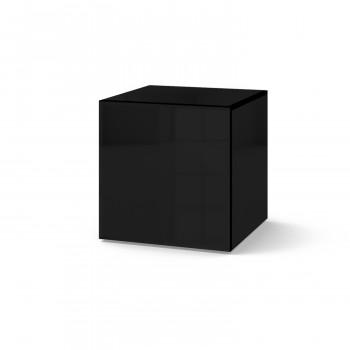 Зеркальный столик Кубби черный