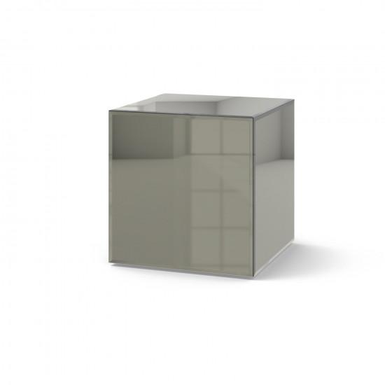 Зеркальный столик Кубби серый в интернет-магазине ROSESTAR фото