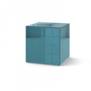 Зеркальный столик Кубби синий