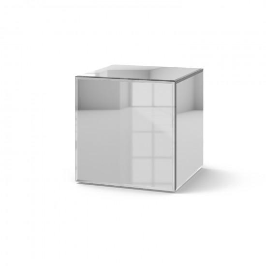 Зеркальный столик Кубби кристал в интернет-магазине ROSESTAR фото