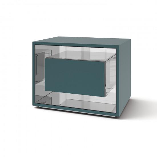 Зеркальная тумба Фэнси мини сине-зеленый кристал в интернет-магазине ROSESTAR фото