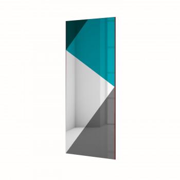 Зеркальное панно Экспириенс синий