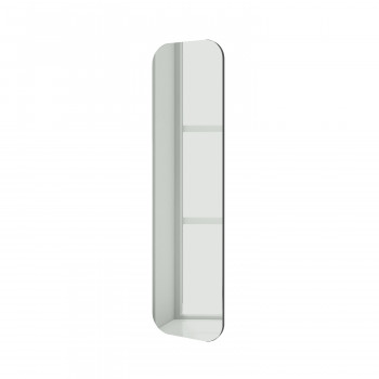 Зеркало Слэпап серебро