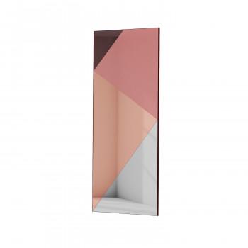 Зеркальное панно Экспириенс розовый