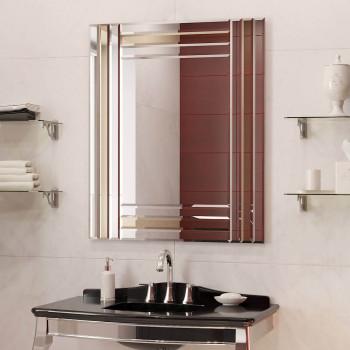 Зеркальное панно Шайн бронза