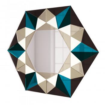 Зеркальное панно Гранд бронза
