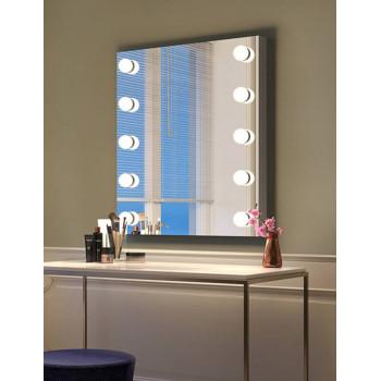 Настенное гримерное зеркало c LED-лампами Диана