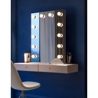 Голливудское настольное зеркало с подсветкой лампочками Джоан