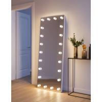 Напольное гримерное зеркало со светодиодными лампами Кирстен 80х190 см