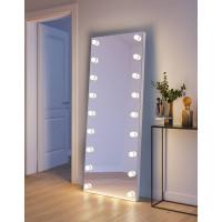 Напольное гримерное зеркало с подсветкой лампочками Меган 80x180