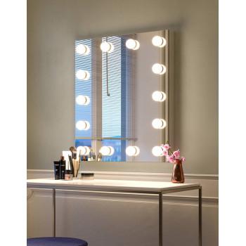 Гримерное настенное зеркало cо светодиодной подсветкой Рейчел
