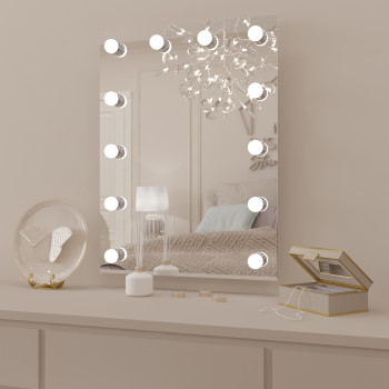 Настенное гримерное зеркало Сандра