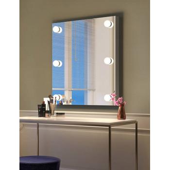 Настенное гримерное зеркало c LED-лампами Вита