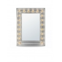 Гримерное зеркало с подсветкой лампочками «Эми»