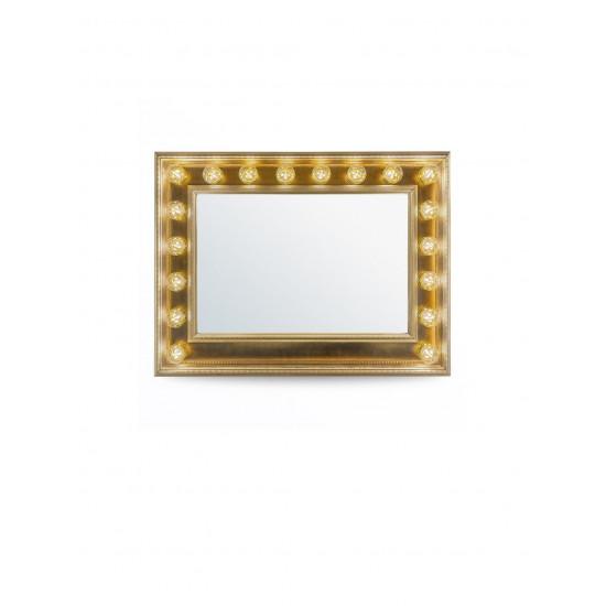 Гримерное зеркало с подсветкой лампочками «Гермиона»