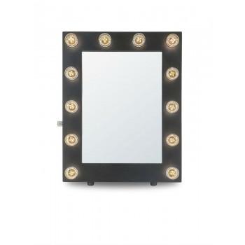 Гримерное зеркало с подсветкой лампочками «Камерон»