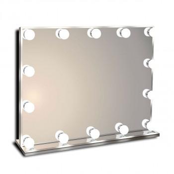 Гримерное зеркало с подсветкой лампочками Hollywood 2