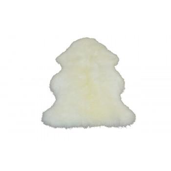 Овчина S одинарная белая 65х45