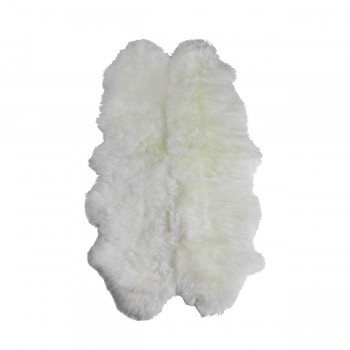 Овчина белая 4-х шкурная XL 185х105