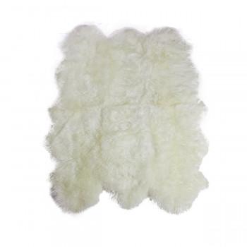 Овчина белая 6-ти шкурная XL 185х145