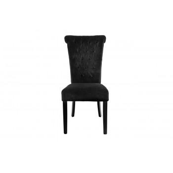 Бархатный стул черный 98*47*52см PJC597-PJ877